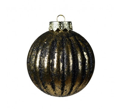 Shatter Proof Bauble with Antique Finish