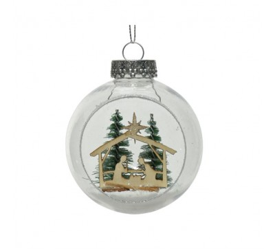 Shatter Proof Bauble Nativity Scenery