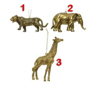 Shatter Proof Animal Tree Decorations