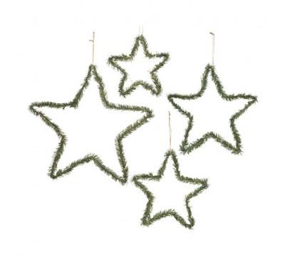 Iron Star with Pine Set