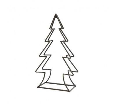 Wood Rack Christmas Tree Outdoor 23x49x90cm