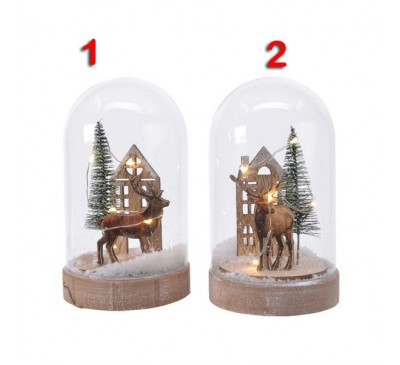 LED Cloche Deer 2 to choose from