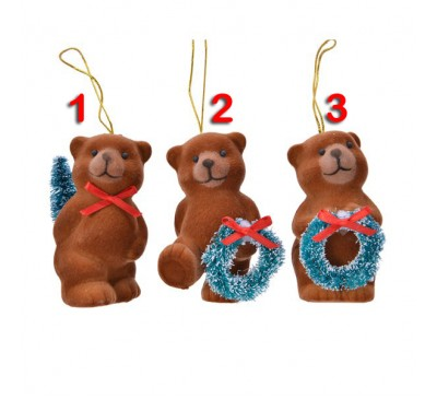 Bear Tree Decoration 3 to choose from