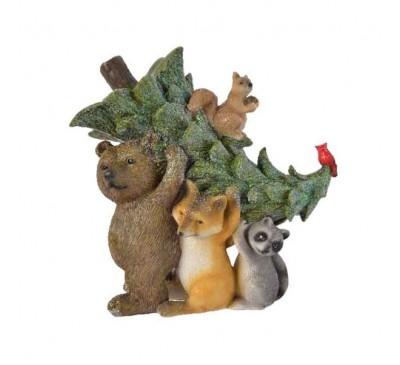 Animals with Tree