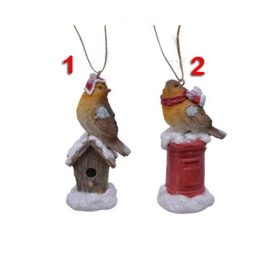 Polar Bird Tree Decoration 2 to choose from