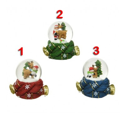 Assorted Snowglobes 3 to choose from