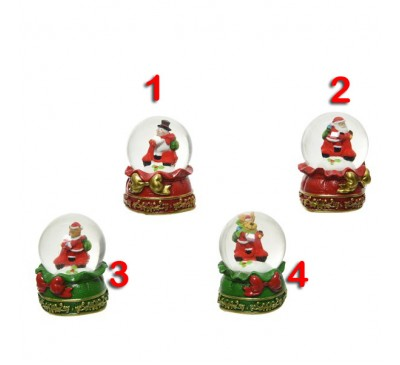 Assorted Snowglobes 4 to choose from