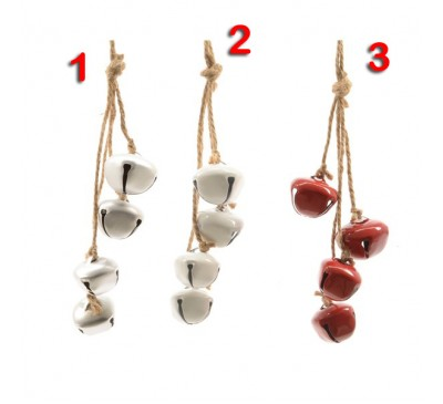 Assorted Iron Bell Tree Decoration Bundle 3 to choose from