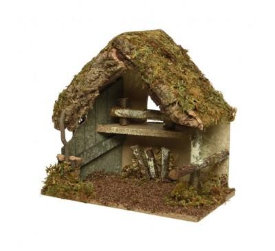 Nativity House 30x18x26cm