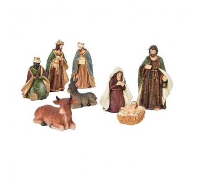 Nativity Set 8 Figures upto 20cm