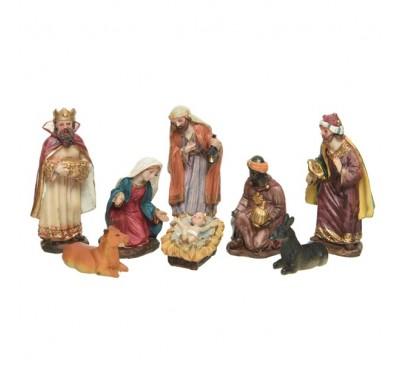 Nativity Set with 8 Figures 12cm
