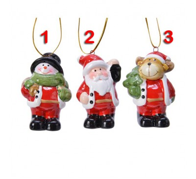 Terracotta Christmas Figure 3 to choose from