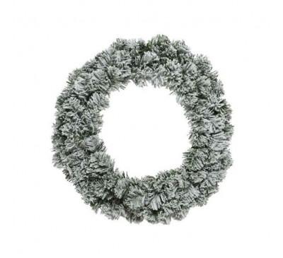 Snowy Imperial Wreath 50cm