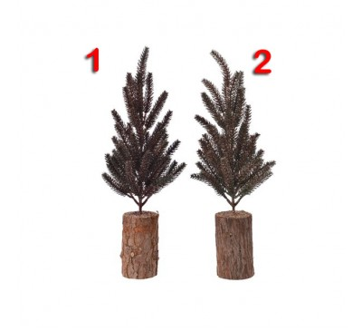 Mini Tree Wooden Foot 34cm 2 to choose from