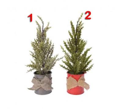 Mini Tree Zinc Pot 32cm 2 to choose from