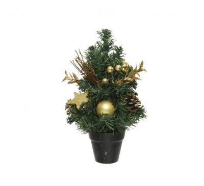 Mini Tree Bauble with Glitter 30cm