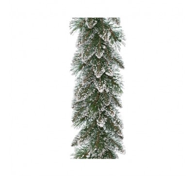 Frosted Finley Garland 270cm