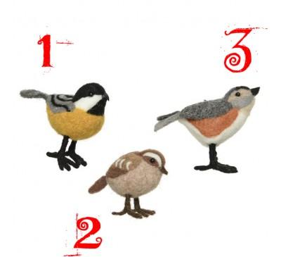 Assorted Woollen Birds