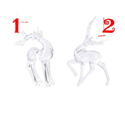 Assorted Acrylic Deer