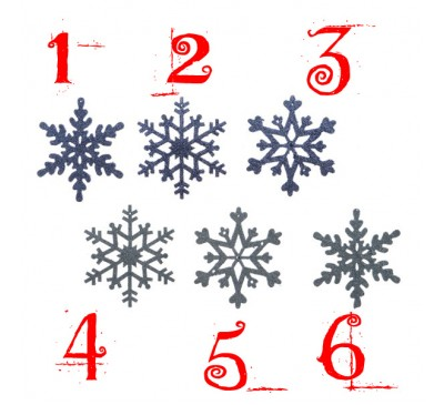 Assorted Snowflakes
