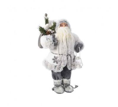 Winter Santa with Snowflake