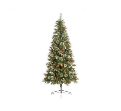 Ipswich Snowy Pine 210cm Christmas Tree
