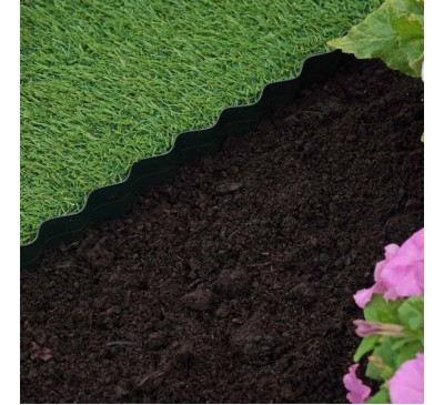 Smart Garden Plastic Lawn Edging 15cm x 10m