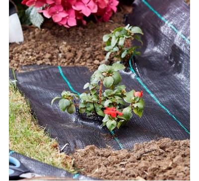 Smart Garden G100 Woven Anti-Weed Fabric 15m x 1m