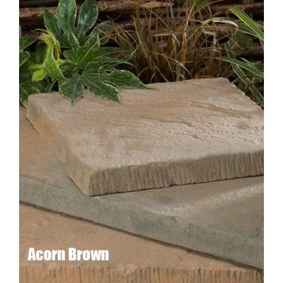 Riviera Acorn Brown Paving Slab 300mm x 300mm
