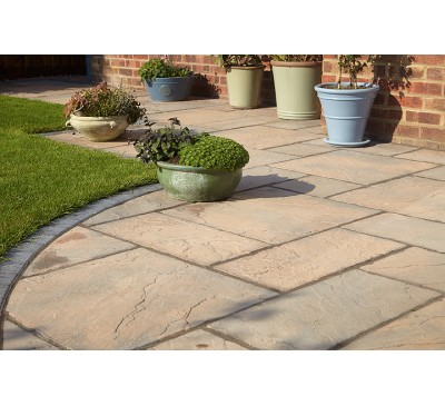 Bronte Acorn Brown 7.6m2 Patio Kit