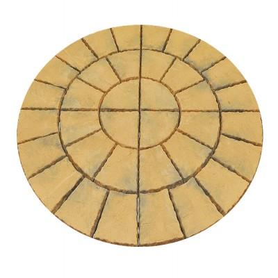 Bronte 1.8m Acorn Brown Circle Kit