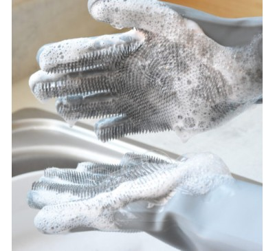 Scrubby Gloves