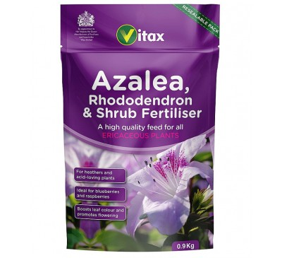 Vitax Azalea Rhododendron & Shrub Fertiliser 900g
