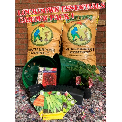 Lockdown Essentials  - Garden Pack 1 Contains 2 Compost Bags