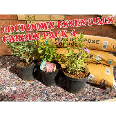 Lockdown Essentials Garden Pack 4 Contains 3 Compost Bags