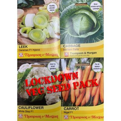 Lockdown  Seed Pack Vegetable