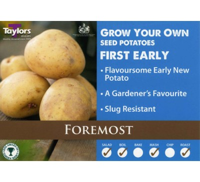 Taster Packs Foremost Potatoes NOW HALF PRICE