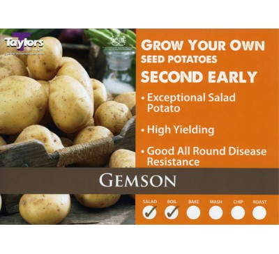 Taster Packs Gemson Potatoes NOW HALF PRICE