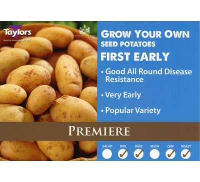 Taster Packs Premiere Potatoes NOW HALF PRICE