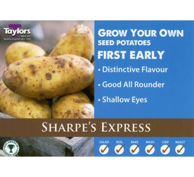 Taster Packs Sharpe`s Express Potatoes NOW HALF PRICE