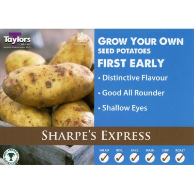 Sharpes Express 2 kg Seed Potatoes