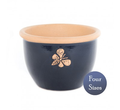 Heritage Garden Bee Pot Dark Blue (20 - 38cm)