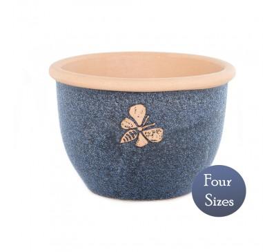 Heritage Garden Bee Textured Pot Dark Blue (20 - 38cm)