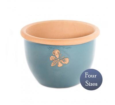 Heritage Garden Bee Pot Light Blue (20 - 38cm)