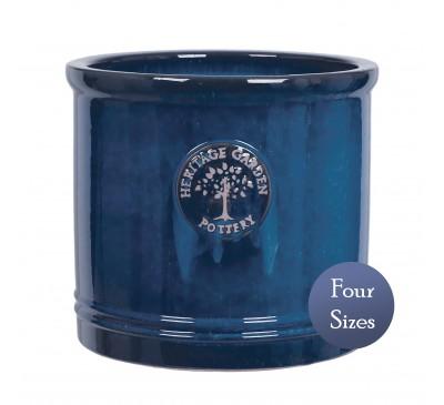 Heritage Garden Cylinder Pot Blue (20 - 38cm)