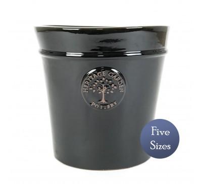 Heritage Garden Conical Pot Black (20 - 50cm)