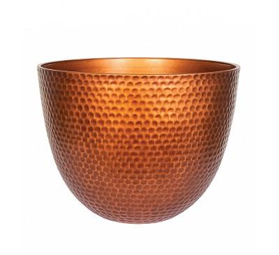 Copper Metal Effect Plant Pot Large