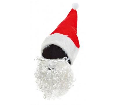 40cm Santa Hat-Curly Beard Set