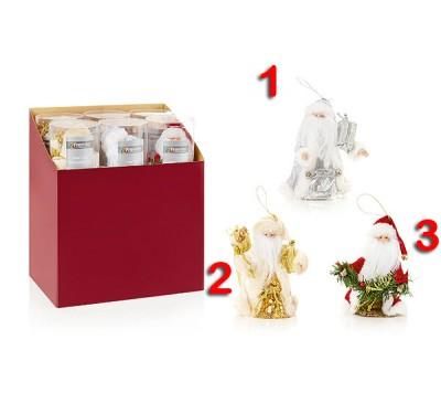 15cm Tree Top Santa 3 Designs