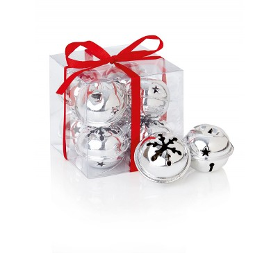 Silver Snowflake Jingle Bells